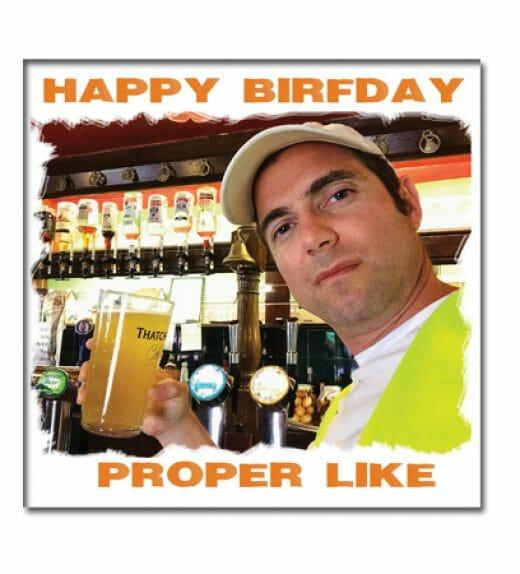 Terry Greeting Birthday Card